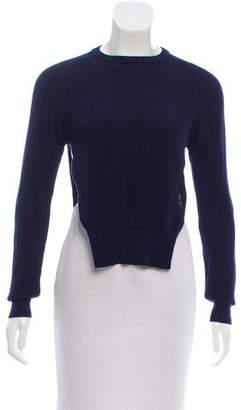J.W.Anderson Rib Knit Crew Neck Sweater