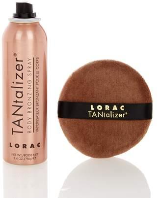 LORAC TANtalizer Body Bronzing Spray & Puff - Bronze $33 thestylecure.com