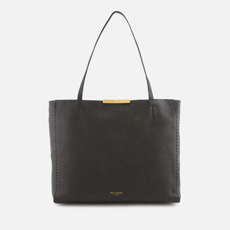 Ted Baker Women's Caullie Bow Detail Soft Shopper Bag - Black