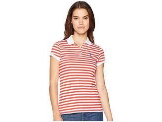 U.S. Polo Assn. Yarn-Dye OPP Polo Women's Clothing