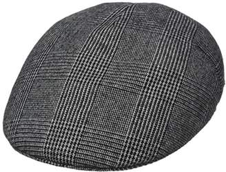 8e5e5221f Kangol Headwear Men s Tweed Milano Flat Cap