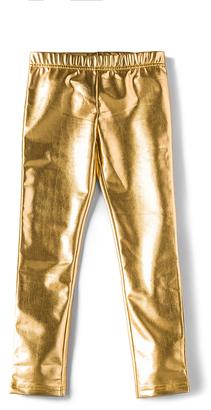 Bardot Junior Metallic Leggings $45 thestylecure.com