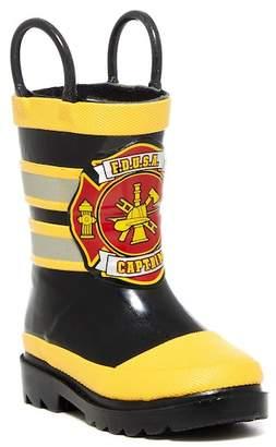 Western Chief FDUSA Captain Waterproof Rain Boot (Toddler & Little Kid)
