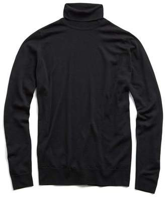 John Smedley Sweaters Easy Fit Turtleneck in Black