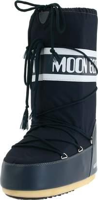 Tecnica Unisex Moon Nylon Winter Fashion Boot, Blue, 39-41 EU, 7-8.5 US Men's, 8-10 US Women's