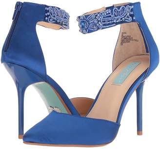 Blue by Betsey Johnson Kali High Heels