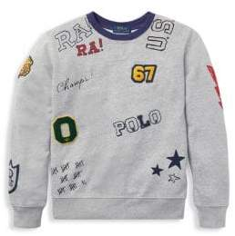 Ralph Lauren Terry Patch Crew Sweater