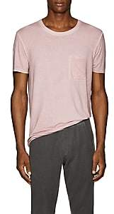 ATM Anthony Thomas Melillo Men's Garment-Dyed Cotton T-Shirt - Pink