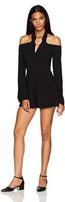 Keepsake The Label Women's Darkest Light Ls Playsuit