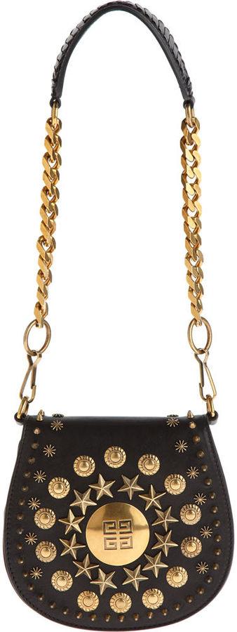 Givenchy Evening Mini Stud Saddle Bag