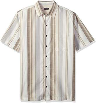 Van Heusen Men's Tall Size Big Air Short Sleeve Shirt