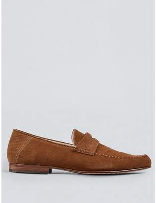 a75b8a3d105b Tan Suede Loafers - ShopStyle UK
