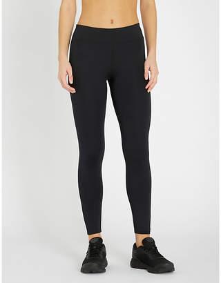 Calvin Klein Logo-detail stretch-jersey leggings