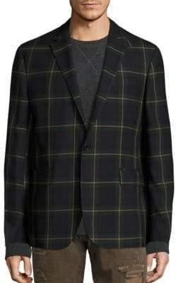 Polo Ralph Lauren Morgan Plaid Wool Sportcoat