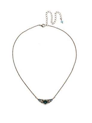 Sorrelli Shielded Crystal Pendant Necklace