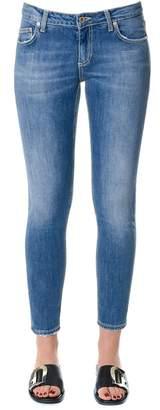 Dondup Skinny Fit Stretch Cotton Jeans