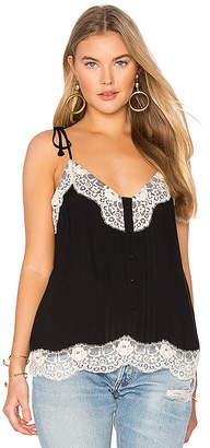 Ella Moss Trinity Cami in Black $128 thestylecure.com