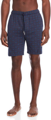 Lacoste Printed Knit Lounge Shorts