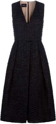 Akris Cotton Organza Midi Dress