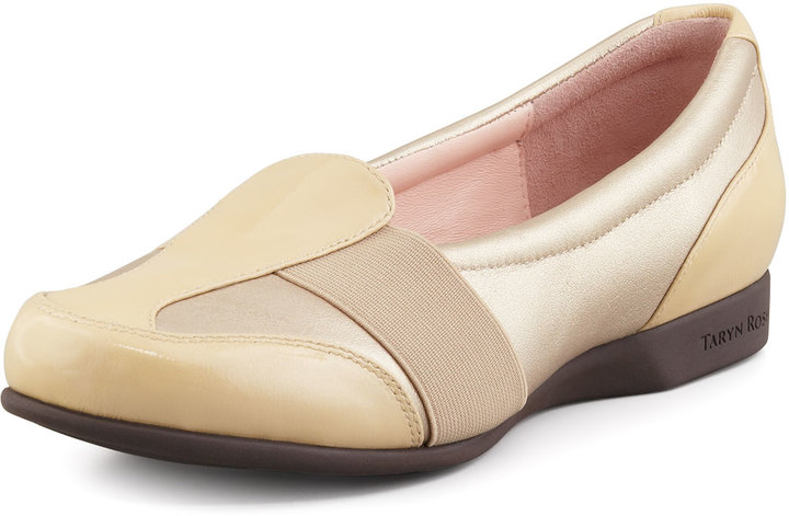 Taryn Rose Taurus Metallic Stretch Sport Loafer