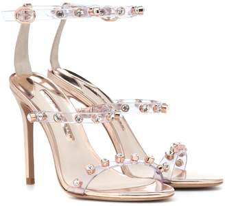 Sophia Webster Rosalind embellished leather sandals