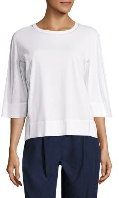 DKNY Dolman Sleeve Pullover $148 thestylecure.com