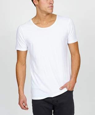 Co General Pants Basics Scoop Neck T-Shirt White