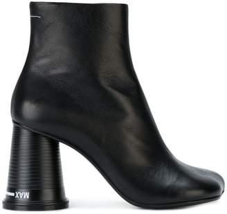 MM6 MAISON MARGIELA チャンキーヒール ブーツ