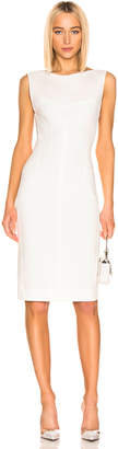 Thierry Mugler Sleeveless Dress in Off White | FWRD