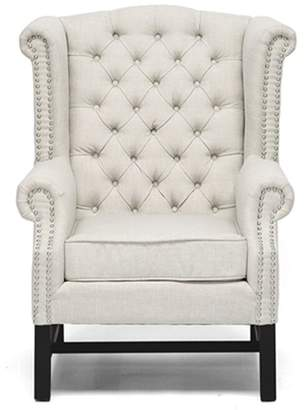 Baxton Studio Wholesale Interiors Wingback Chair