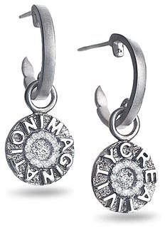 Coomi Sagrada Familia Creativity & Imagination Drop Earrings with Diamonds