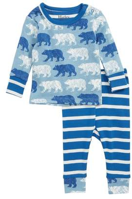 Hatley Print Fitted Two-Piece Organic Cotton Pajamas