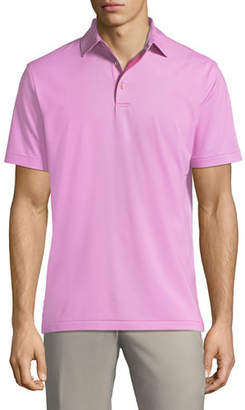 Peter Millar Men's Jubilee Stripe Stretch Jersey Polo Shirt