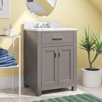 "Andover Mills Raven 24"" Single Bathroom Vanity Set Base"