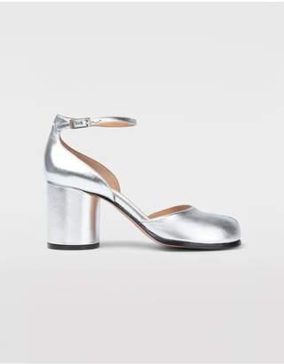 Maison Margiela Silver Tabi Sandals