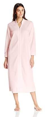Carole Hochman Women's Quilted Zip Robe