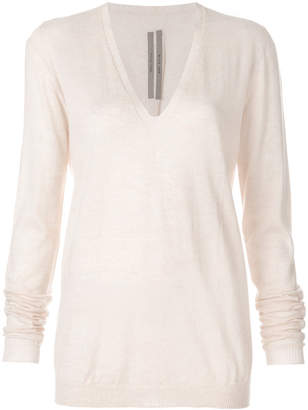 Rick Owens v-neck sweater