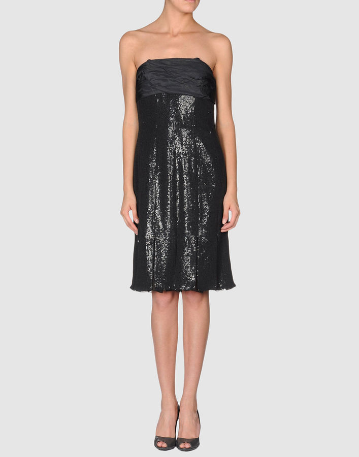 Carmen Marc Valvo Short dresses