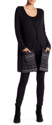 Anama Patch Pocket Cardigan $89 thestylecure.com