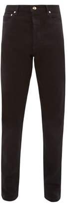 Paul Smith Contrast Stitching Slim Leg Jeans - Mens - Black
