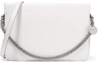 Givenchy Cross3 Two-tone Textured-leather And Suede Shoulder Bag - White