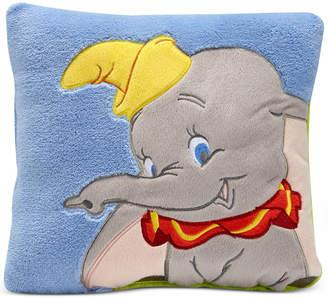 Disney Dumbo Dream Big Embroidered Applique Plush Decorative Pillow Bedding