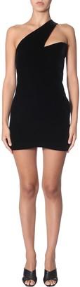 Saint Laurent Asymmetrical Dress