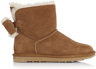 Long Tall Sally LTS Suri Sheepskin Lined Suede Boot