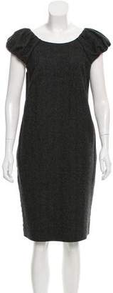Dolce & Gabbana Wool Knee-Length Dress