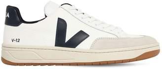 Veja 20mm V-12 Leather & Mesh Sneakers