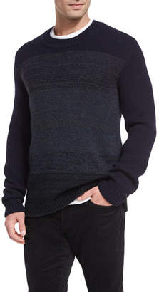 Vince Marled Yak-Wool Crewneck Sweater