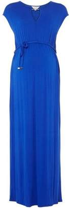 Dorothy Perkins Womens **Maternity Cobalt Jersey Maxi Dress