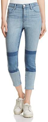 J Brand Alana High Rise Crop Jeans in Soho - 100% Exclusive $248 thestylecure.com