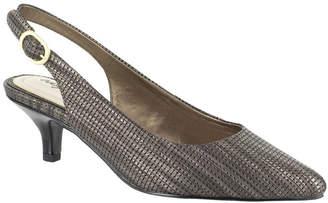 Easy Street Shoes Womens Faye Pumps Pointed Toe Kitten Heel